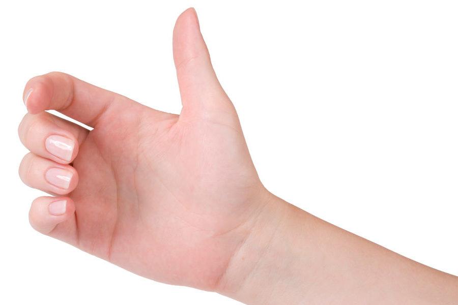 Gyermekkori rögzült hüvelykujj